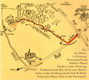 Pauenhof-Landkarte