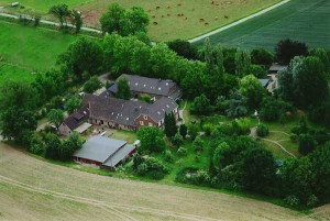 Pauenhof Luftaufnahme